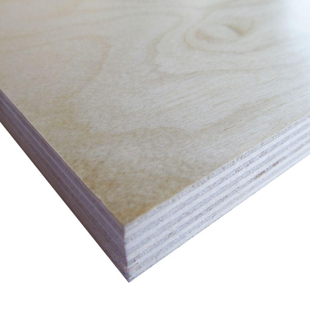 Swaner Hardwood Prefinished Birch Plywood Common 3 4 In X 4 Ft X 8 Ft Actual 0 703 In X 48 In X 96 In 971 Plywood Baltic Birch Plywood Birch Plywood