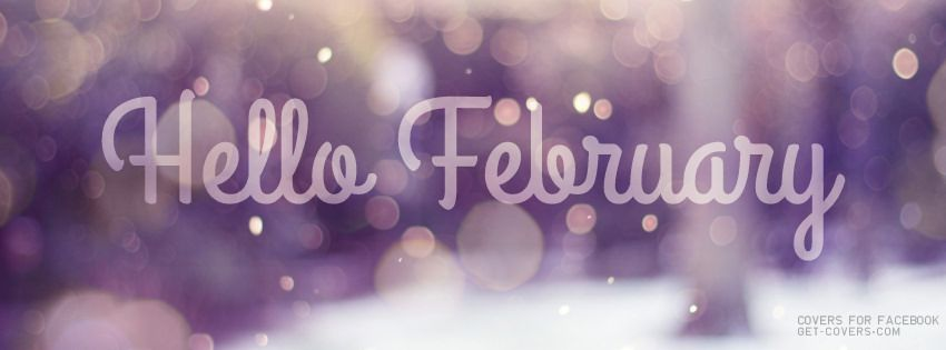 Get this Hello February Facebook Covers for your profile from Get-Covers.com.