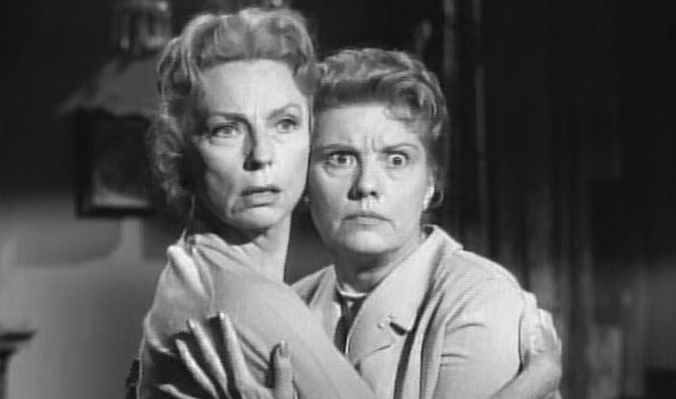 "Agnes With Her ""housekeeper"" Lenita Lane In The Bat, 1959"
