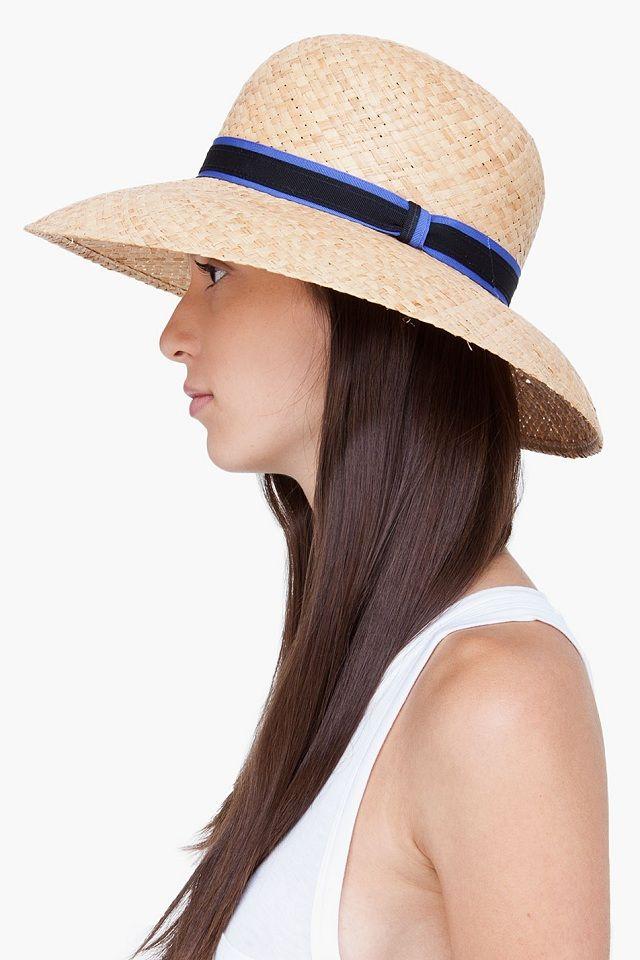 Rag Bone Straw Wide Brim Beach Hat Beach Hat Wide Brimmed Hats