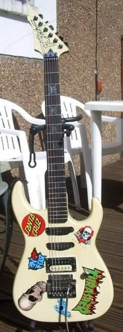 BC Rich ST with a Kahler tremolo Guitar, Music instruments