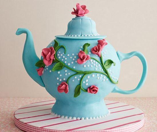Teapot Cake Tutorial