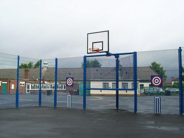 Junior Goal / Kickwall - part of our Multi Use Games Areas (MUGA) range by SteelwayUK, via Flickr