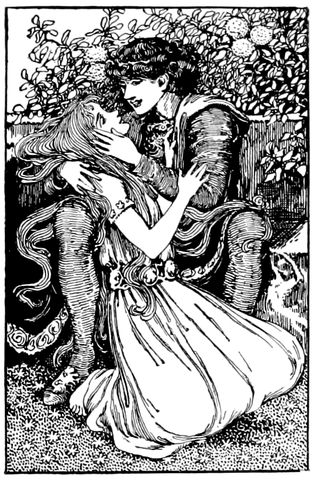 The Little Mermaid by Helen Stratton 1899.