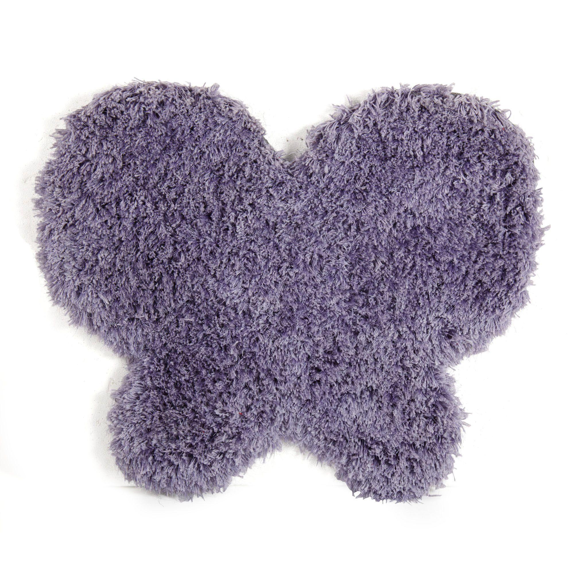 tapis enfant 80x70cm en forme de papillon mauve lilas les tapis de chambre d 39 enfants les. Black Bedroom Furniture Sets. Home Design Ideas