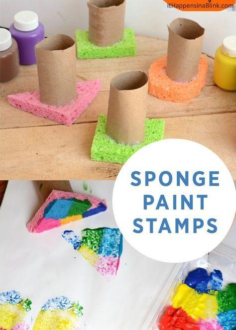 Photo of Handled Sponge Stamps