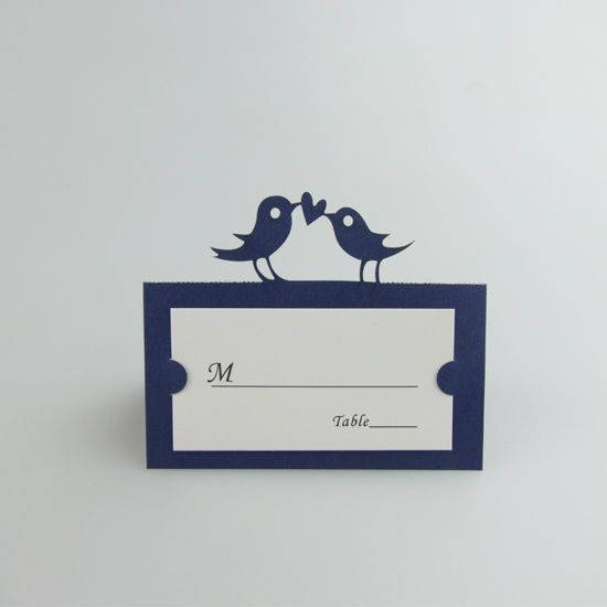 Personalized love birds wedding table name cards table wedding personalized love birds wedding table name cards table wedding decoration junglespirit Images
