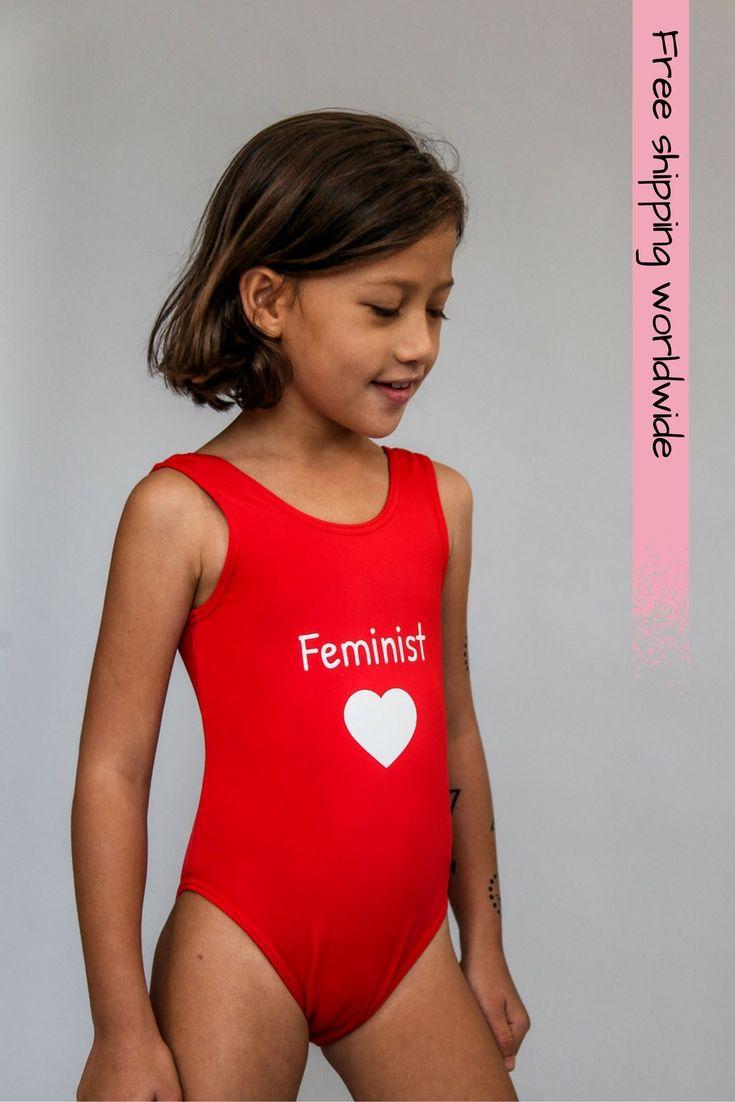 Girls swimwear,One piece swimsuit,girls bathing suit,Red swimsuit ...