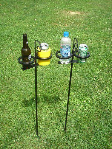 Beverage Butler Outdoor Drink Holders The Beverage Butler Outdoor Drink Holder Drink Holder Diy Drinks