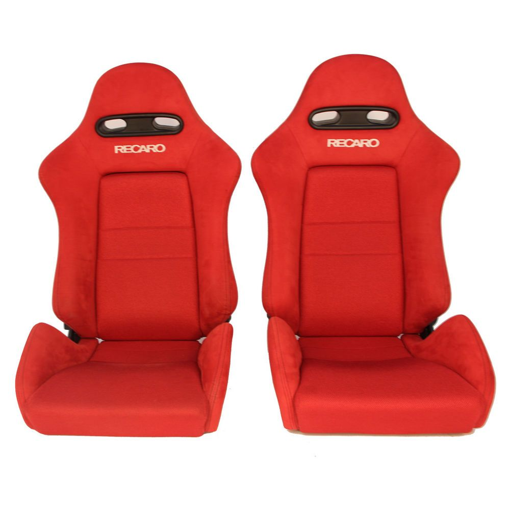 Cool 2 Jdm Recaro Sr4 Red Rare Bucket Racing Seats Cars Mustang Creativecarmelina Interior Chair Design Creativecarmelinacom