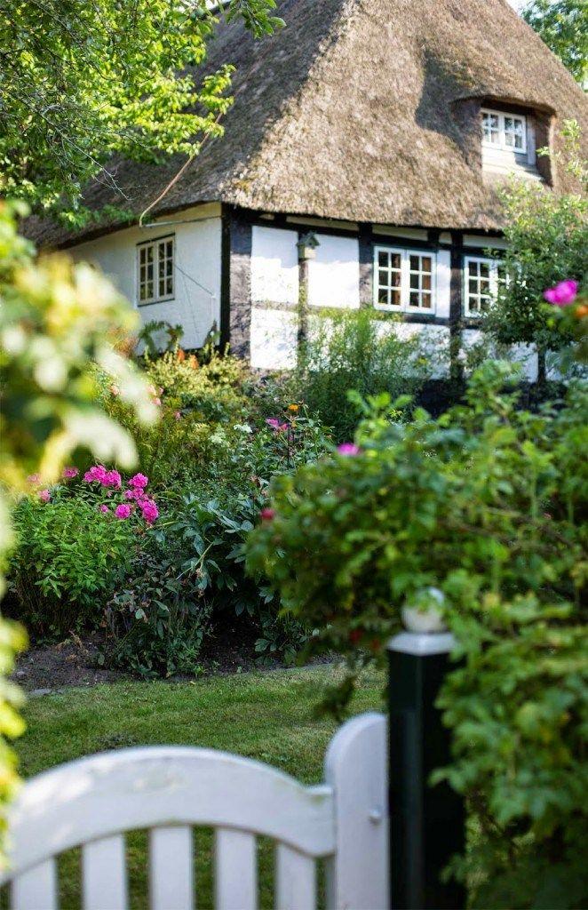 Sieseby an der Schlei Englische landhausgärten, Cottage