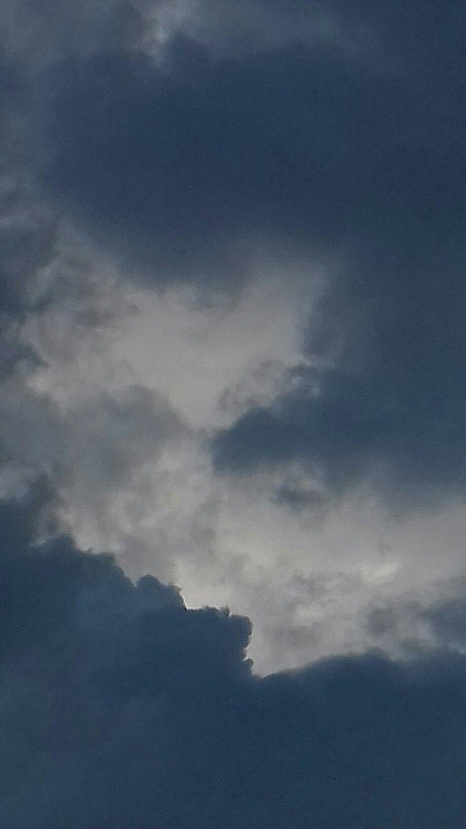 Sjy Storm Air Breathe Clouds Aesthetic Melancholic