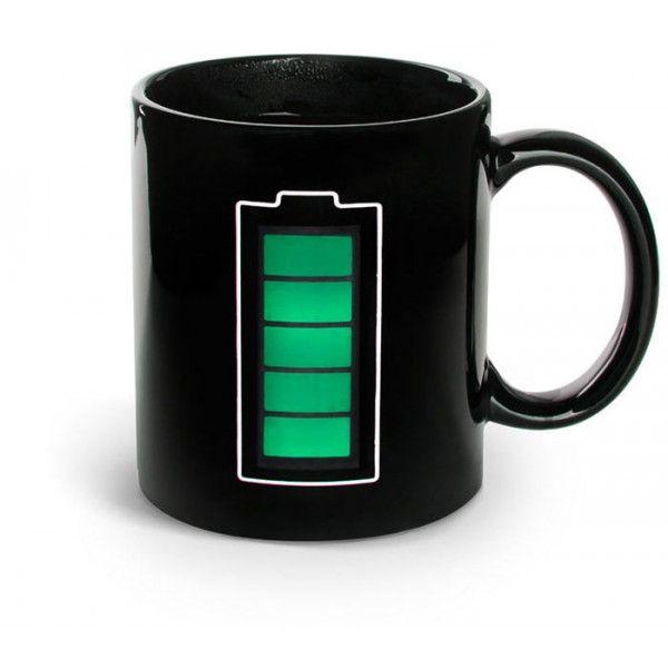 mug batterie thermor actif noir pinterest tasses. Black Bedroom Furniture Sets. Home Design Ideas