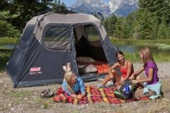 coleman 6 man instant dome tent