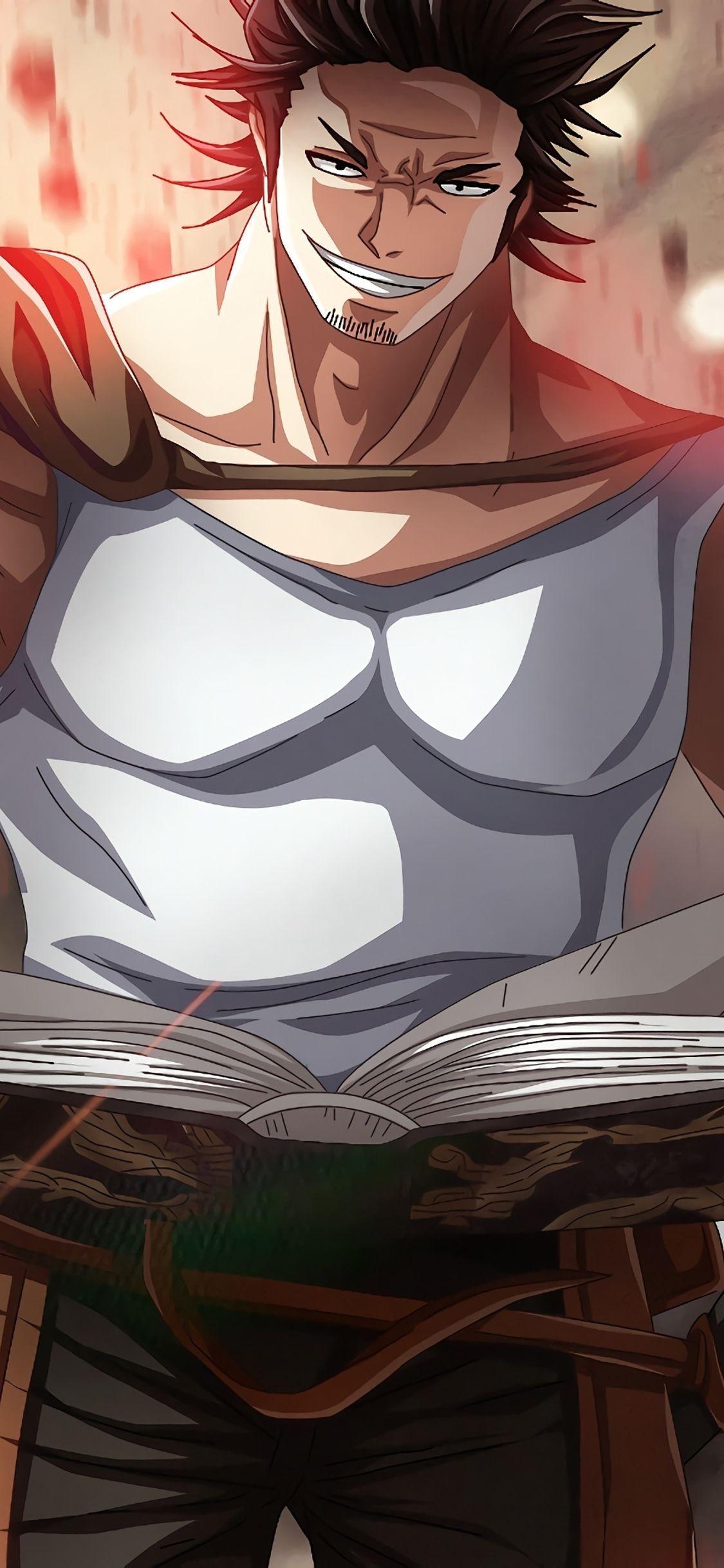 iphonex Black clover anime, Anime wallpaper, Hd anime
