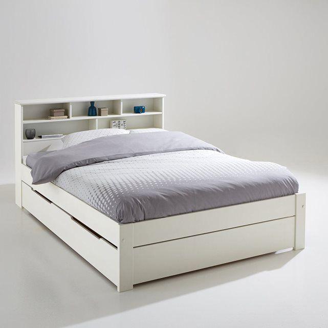 Ensemble lit, tête de lit et sommier Nikkö | Tete de, En-tête et ...