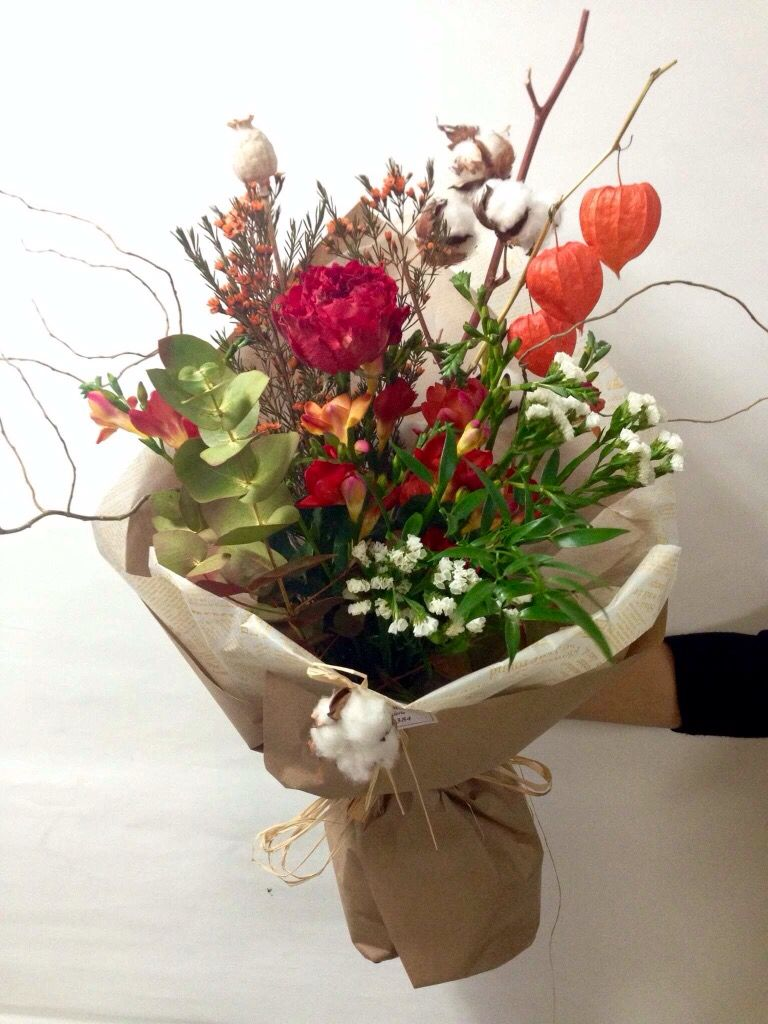 The perfect bouquet for the end of fall season #fall #autumn #flower ...