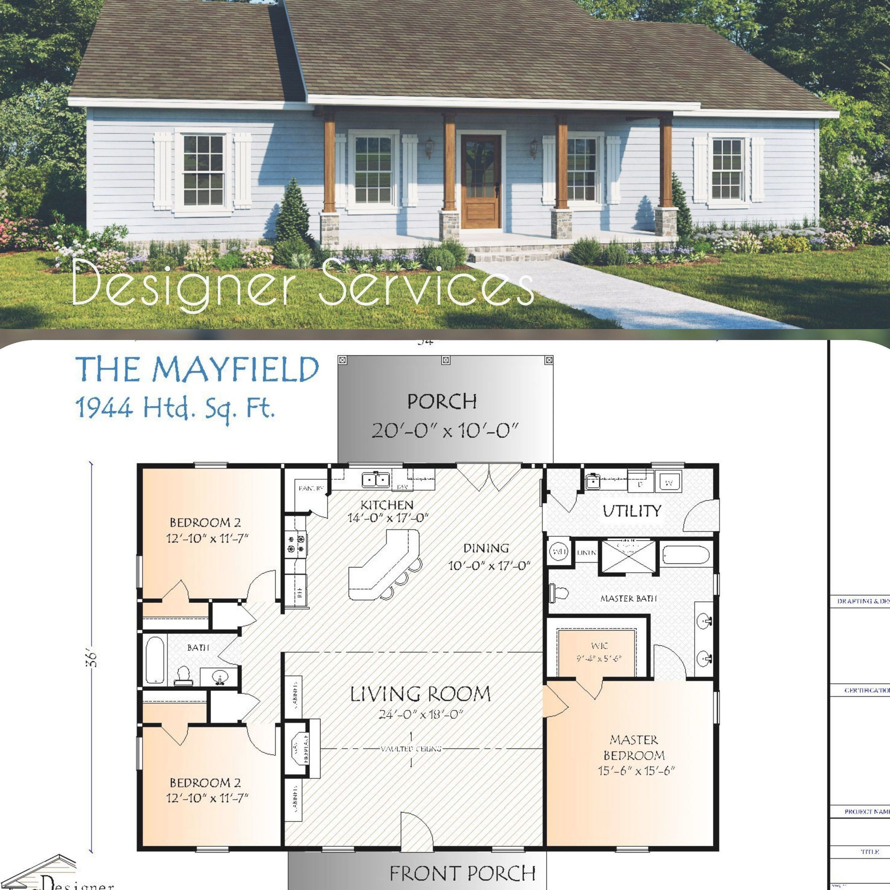 The Mayfield House Plan Image 0 In 2020 Craftsman House Plans Building Plans House House Plans Farmhouse