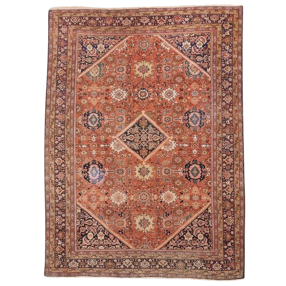Genuine Hand Knotted Authentic Antique Persian Rug 12 X 8 10 In 2020 Antique Persian Rug Persian Rug Rugs