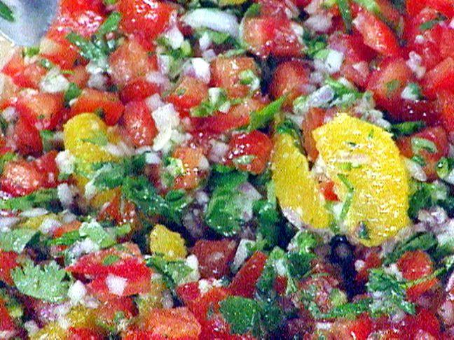 Fresh Orange and Tomato Salsa Recipe : Emeril Lagasse : Food Network