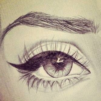 Drawing Art Eyes Ideas Eye Shadow Amazing Cool Eye Mascara