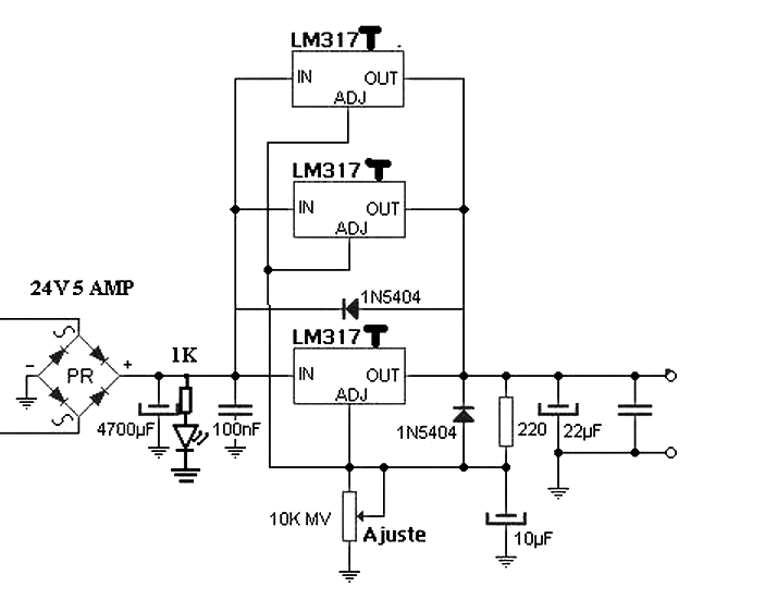 This is the power supply can supply voltages from 1.2V to