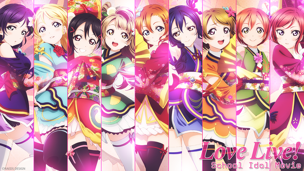 Wallpaper Love Live! The School Idol Movie Anime love