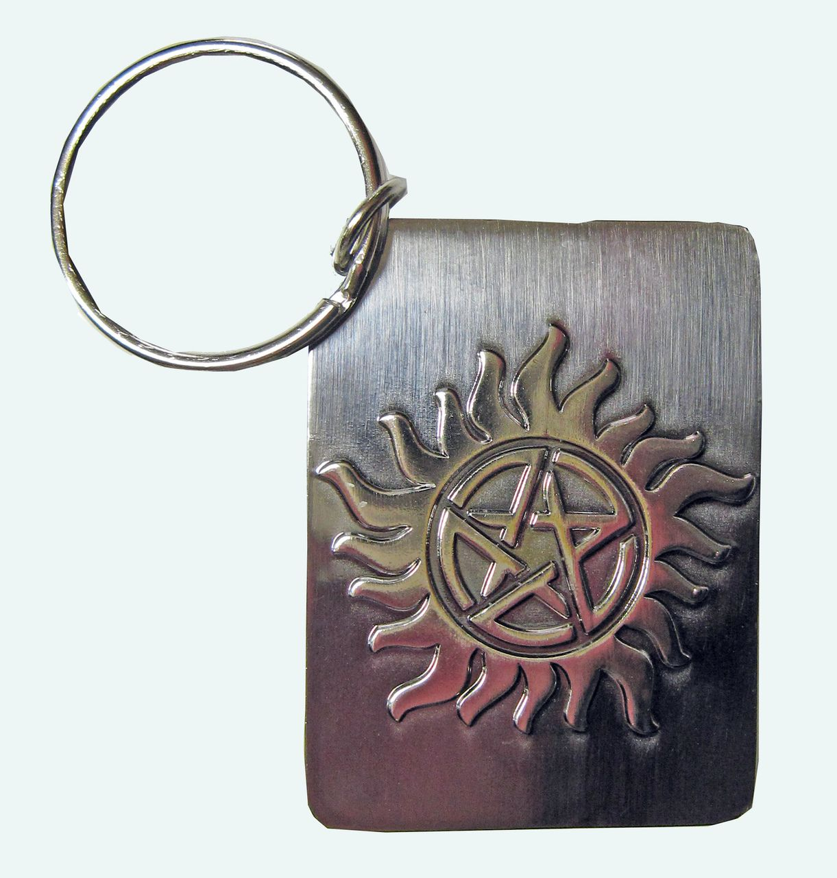 SUPERNATURAL ANTIPOSSESSION TATTOO SYMBOL KEYCHAIN