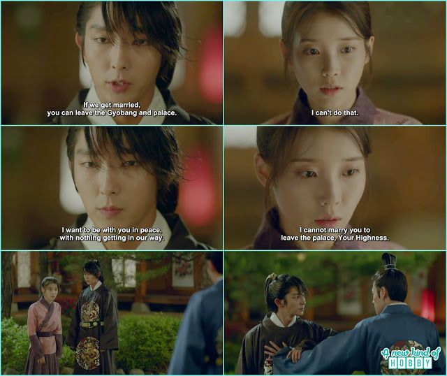 4th Prince ask Hae Soo to get married she refused and 8th
