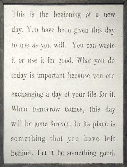 This Is The Beginning Of A New Day Quotes Quotes