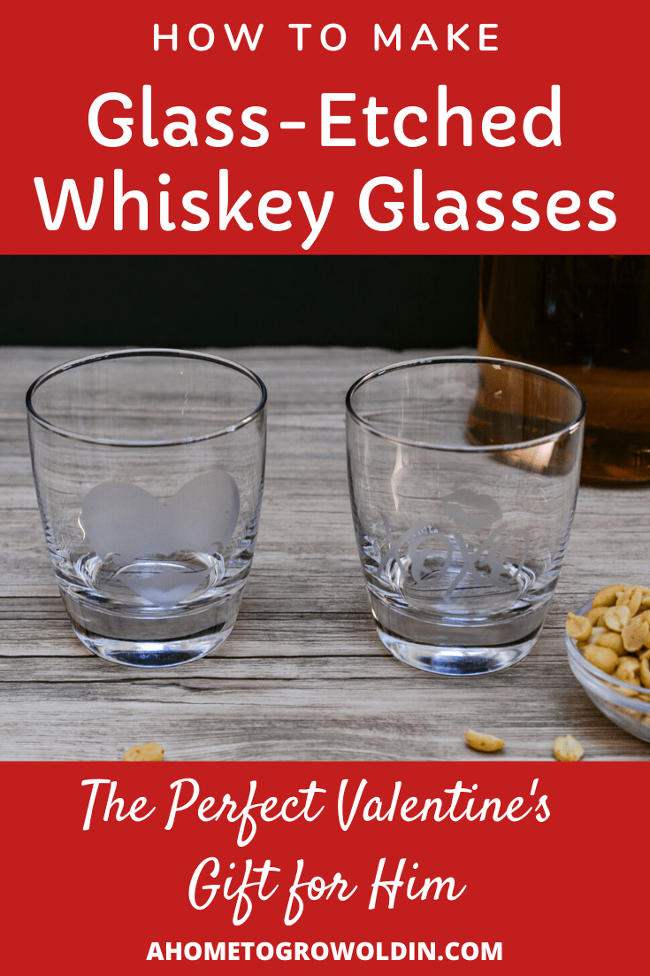 Photo of DIY Etched Glass Whiskey Tumbler