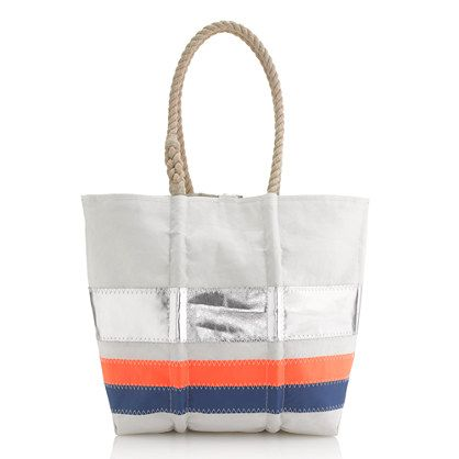Sea Bags For J Crew Tote Made From Reclaimed Sails