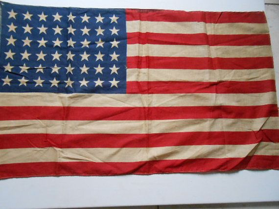 American Flag 48 Stars From Korean War Era By Loveartphotocrafts American Flag Flag Flags Of Our Fathers
