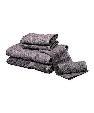 Look What I Found On Zulily Charcoal Egyptian Cotton Towel Set