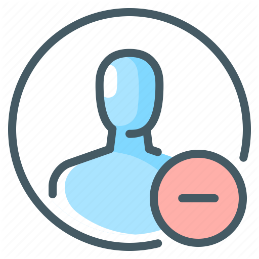 Minus Person Profile Subtract Icon Download On Iconfinder Business Icon Icon Subtraction