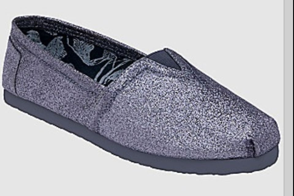 Sparkly toms Sparkly toms, Slip on sneaker, Sneakers