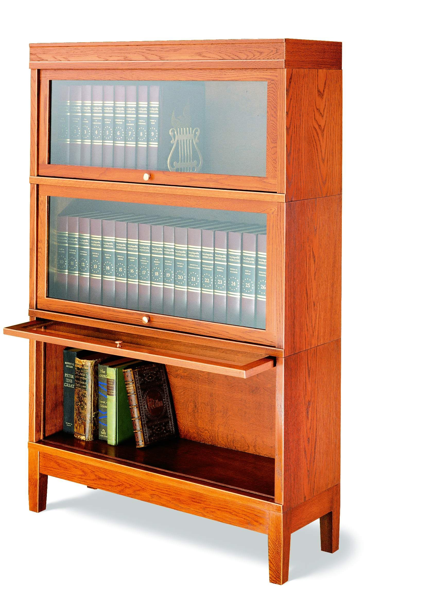 Hale Barrister Stack Able Bookcases Made From Solid Wood