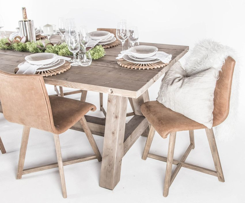 Juno Dining Chair With Cayman Island Dining Table