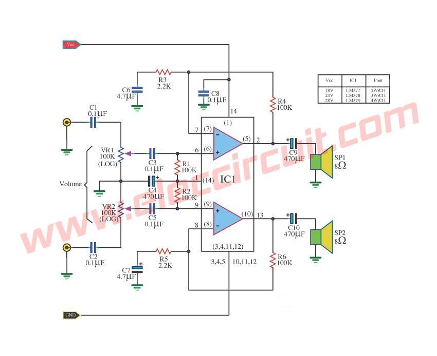 Pcb Layout Tip41 Tip42 Amplifier Circuit - Pcb Circuits