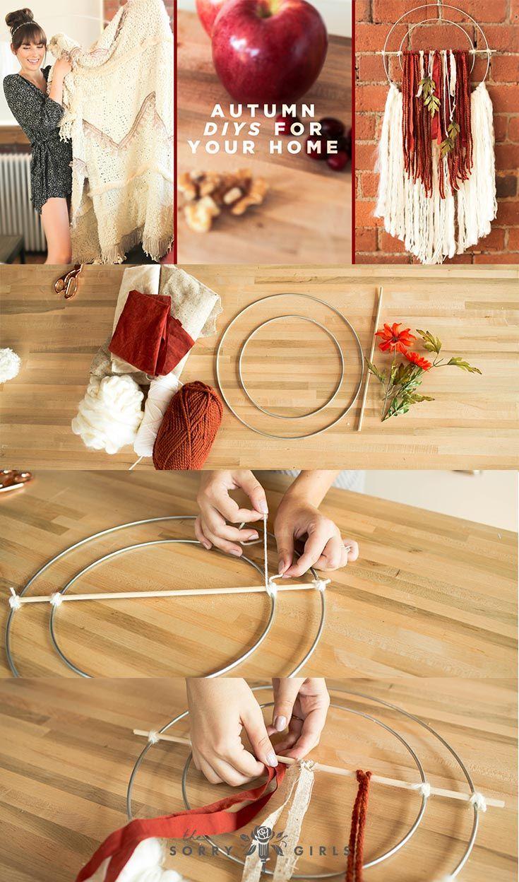 FALL DIYS FOR YOUR HOME   Pinterest   Transitional wall decor, Diys ...