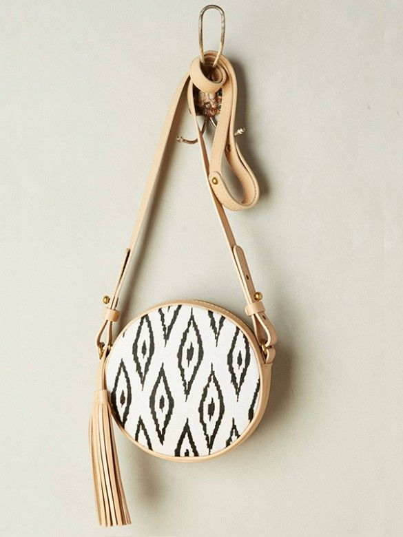 An essential ikat bag that holds just the essentials.