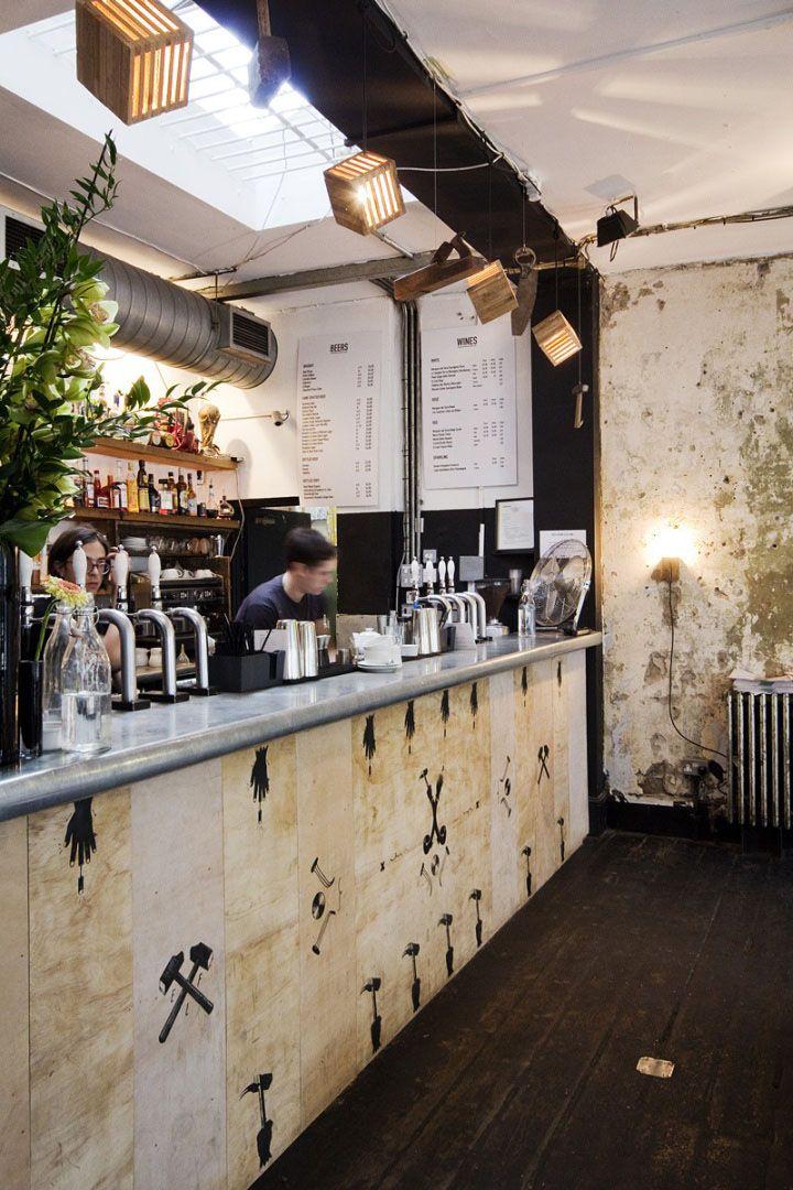 LOW TECH DESIGN! East London Furniture exhibit at Dream Bags Jaguar Shoes, London hotels and restaurants exhibit design eco