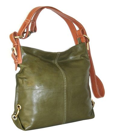 Take A Look At This Moss West Side Hobo Bag By Nino Bossi Handbags On Zulily Today