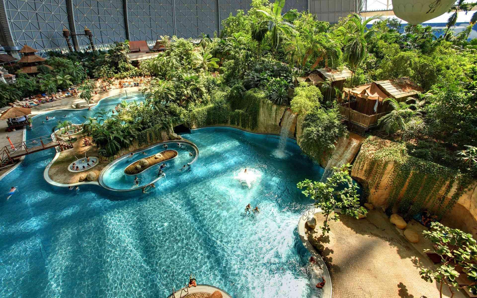 Tropical Islands Tropical Islands Europe S Largest Tropical Holiday World Tropical Islands Resort Indoor Waterpark Indoor Swimming Pools