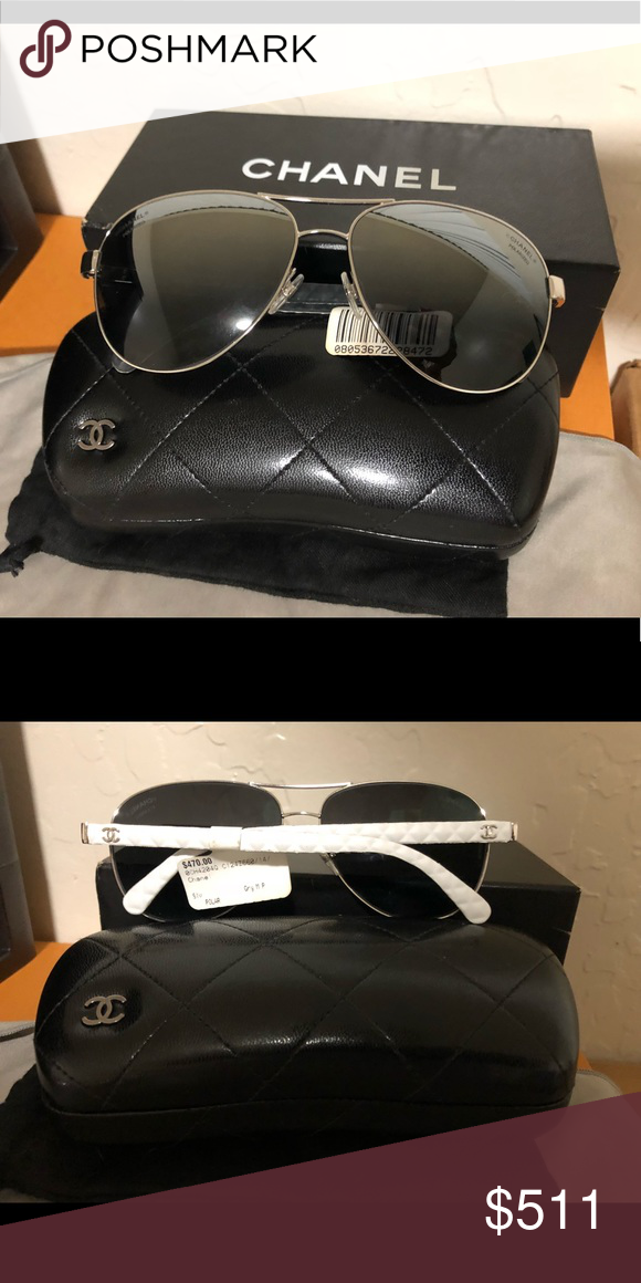 1fff907d1e8e Authentic Chanel Sunglasses NWT AUTHENTIC CHANEL SUNGLASSES COMES WITH CHANEL  BOX, CASE, AND DUST BAG Additional photos available upon request!