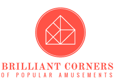 Brilliant Corners of Popular Amusements logo. Swoon every time.