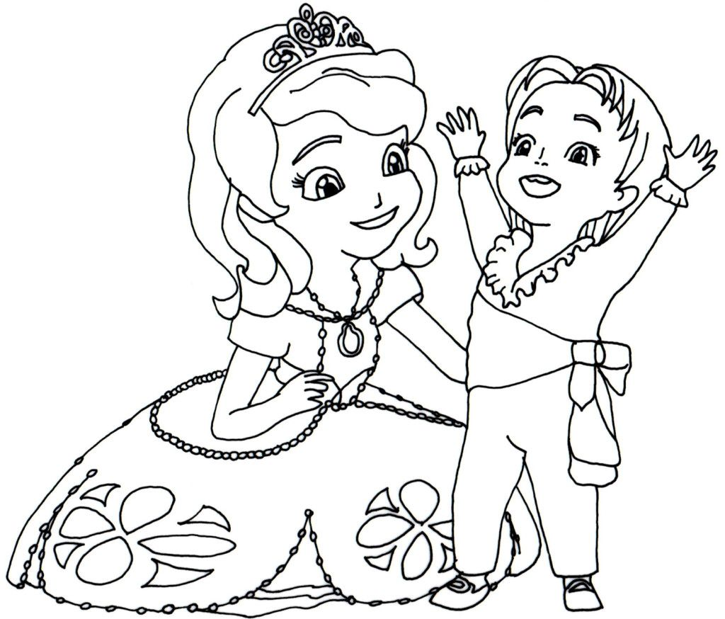 Sofia The First Coloring Book Beautiful Coloring Book World Sofia