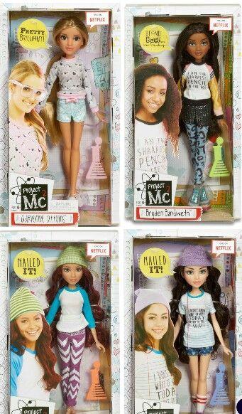 Project Mc2 Core Dolls. I want all of them! Especially Mckeyla.