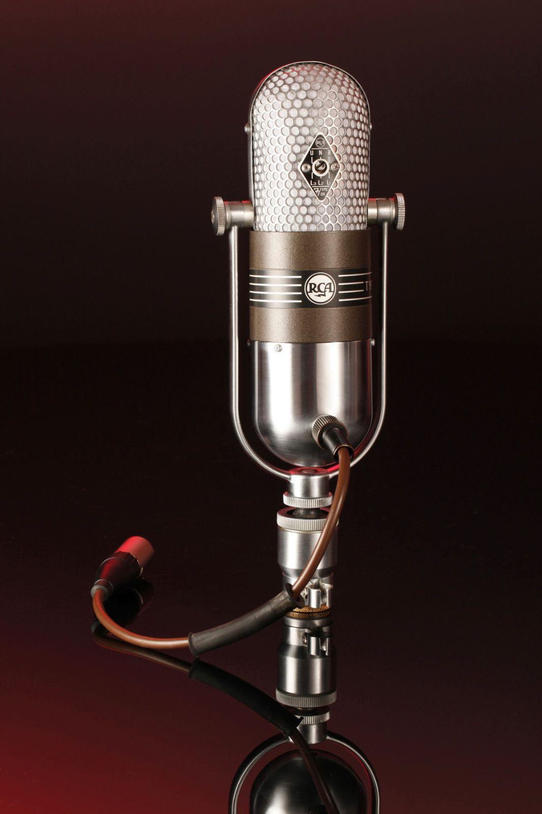 Rca 77 Dx Microphone 1954 Microphone Microphones Retro Radios
