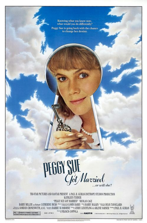Peggy Sue Got Married (1986) | directed by Francis Ford Coppola | starring Kathleen Turner, Nicolas Cage, Barry Miller, and Catherine Hicks
